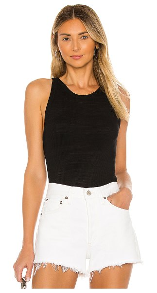 MONROW tissue thermal narrow tank in black