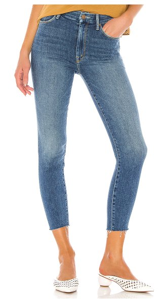 MOTHER high waisted looker ankle fray. - size 24 (also in big sky