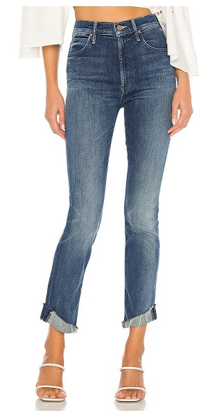MOTHER high waisted rascal ankle slit flip. - size 23 (also in double shot espresso