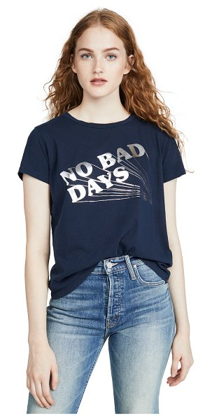 MOTHER the boxie goodie goodie tee in no bad days