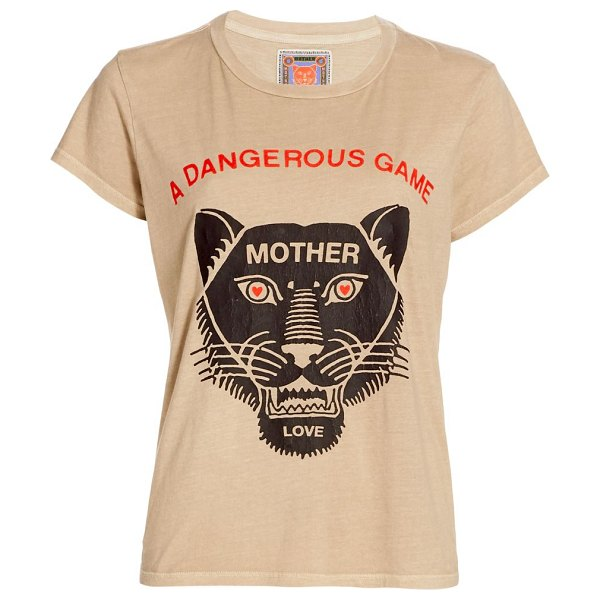 MOTHER the boxy goodie goodie graphic t-shirt in a dangerous game