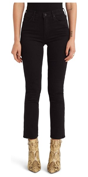 MOTHER the dazzler ankle straight leg jeans in not guilty