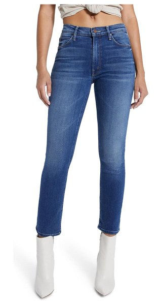 MOTHER the dazzler high waist ankle jeans in sweertand sassy