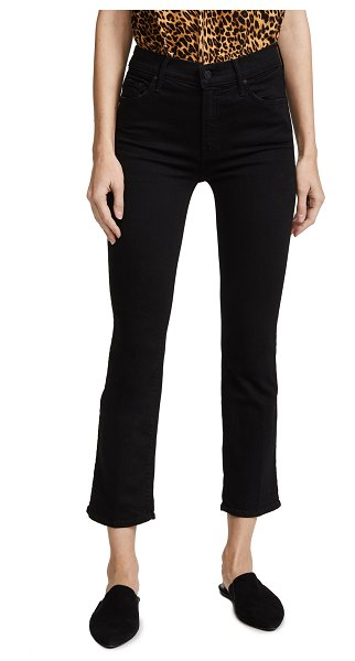 MOTHER the insider crop jeans in not guilty