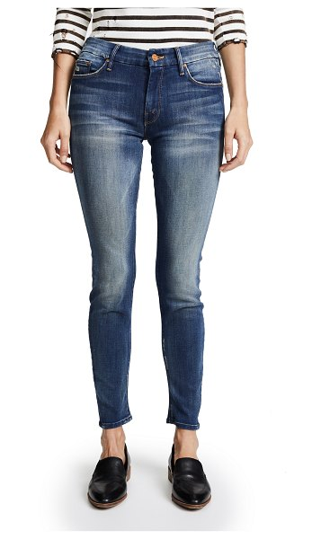 MOTHER the looker skinny jeans in tequila truth