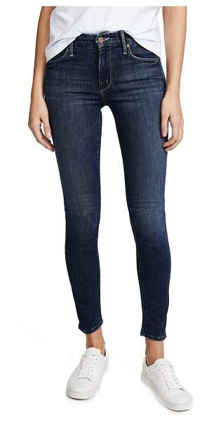 MOTHER the looker skinny jeans in here kitty, kitty