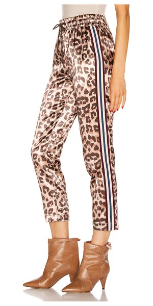 MOTHER the lounger ankle pant in wildcat
