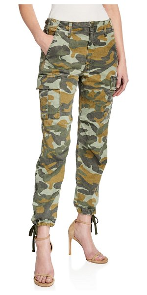 MOTHER The Sir Yes Sir Camo-Print Cargo Pants in finding strength