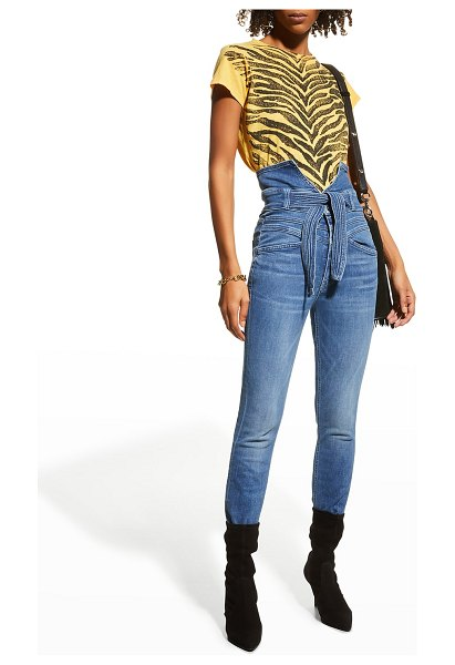 MOTHER The Triple Stack Looker Jeans in wish on a star
