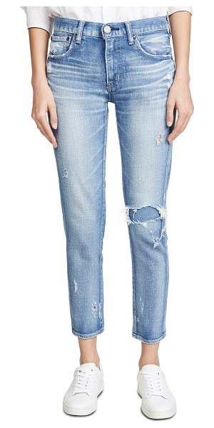 Moussy Vintage lenwood skinny jeans in light blue
