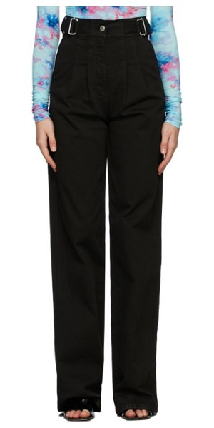 MSGM baggy jeans in black
