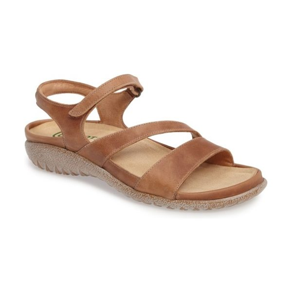 Naot 'etera' sandal in brown leather