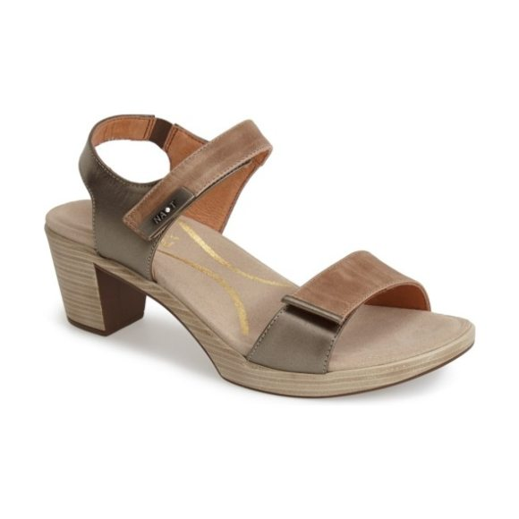 Naot 'intact' sandal in beige
