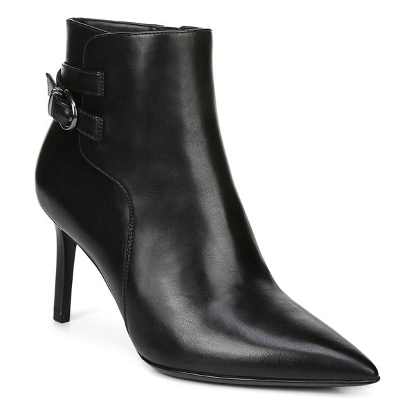 Naturalizer alaina bootie in black leather