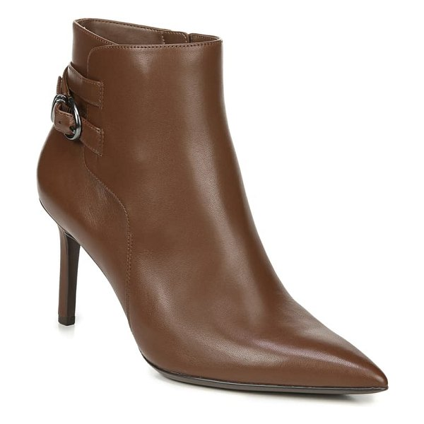 Naturalizer alaina bootie in cinnamon leather