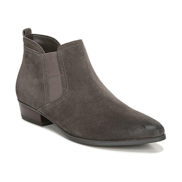 Naturalizer becka bootie in taupe suede