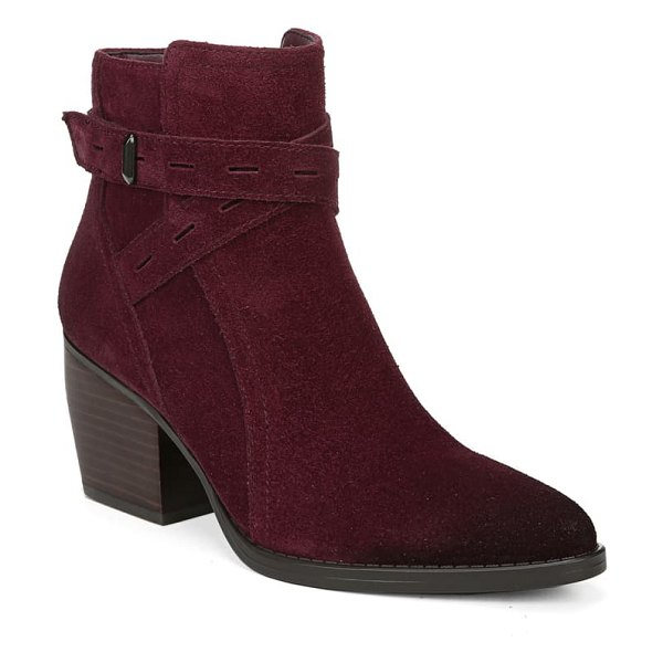 Naturalizer fenya bootie in boysenberry suede