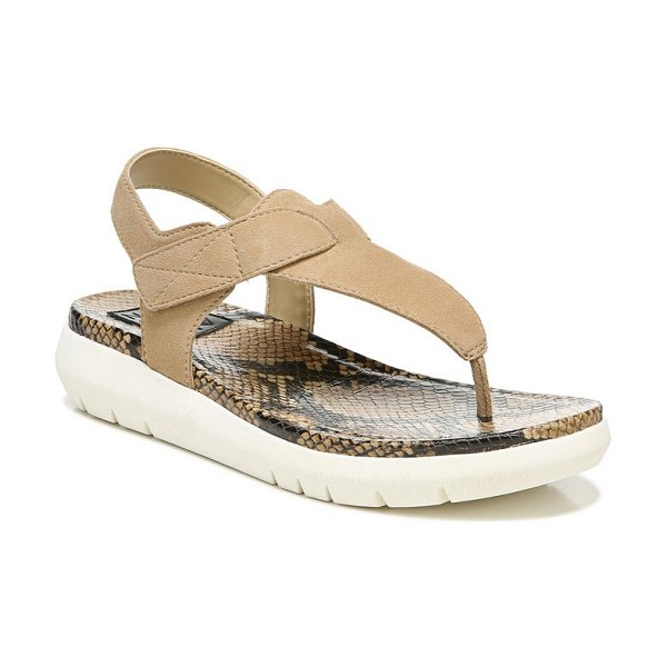 Naturalizer lincoln sandal in bamboo tan leather