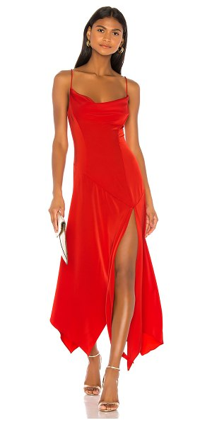 NBD teodora gown in red