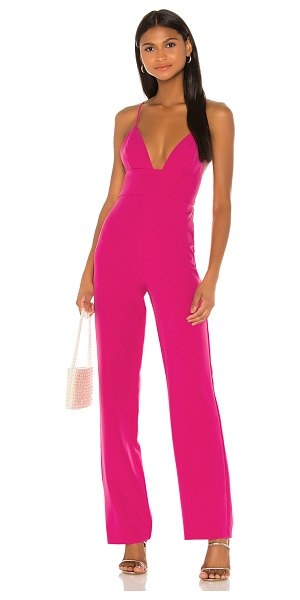 NBD ventura jumpsuit in hot pink