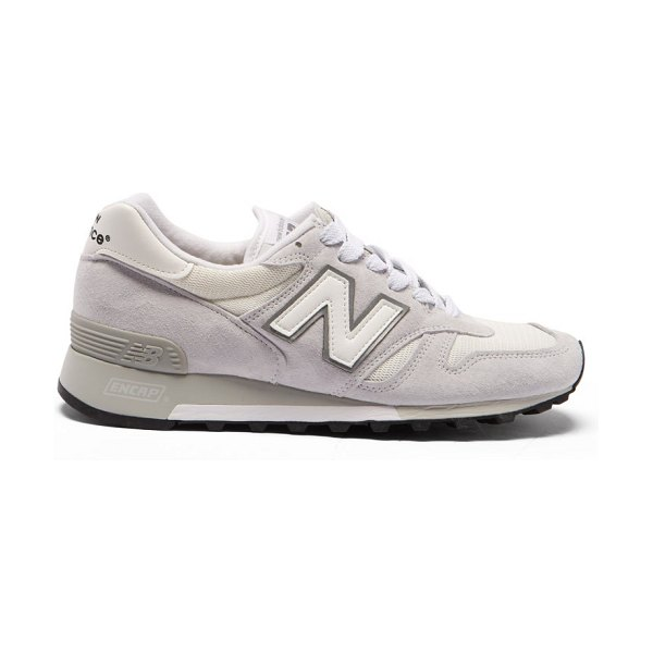 New Balance 1300 suede and mesh trainers in white