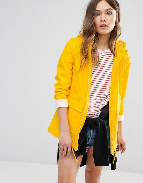 NEW LOOK Matte Anorak Jacket - Raincoat by New Look, Smooth showerproof fabric, Matte...