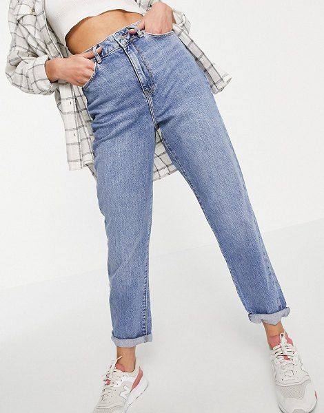 New Look waist enhance mom jean in blue-blues in blues