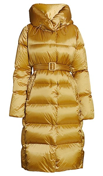 Nicole Benisti dizin quilted down puffer jacket in latte