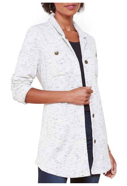 NIC+ZOE on the move knit jacket in neutral mix