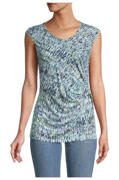 NIC+ZOE Printed Sleeveless Top in multicolor