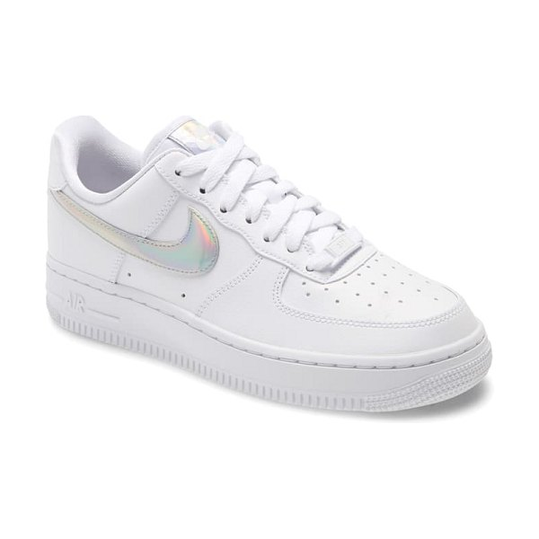 Nike air force 1 low ess sneaker in white/ white/ white