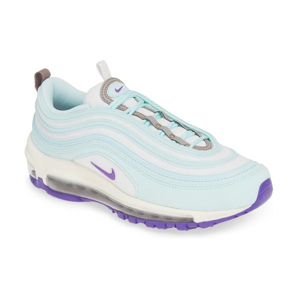 Nike air max 97 sneaker in teal tint/ summit white