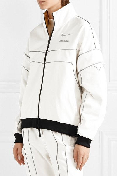 Nike ambush nrg reversible tech-jersey and shell track jacket in gold - Every piece in Nike's collaboration with cult Tokyo...