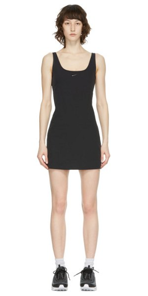 Nike black flex bliss luxe dress in 010 black,c