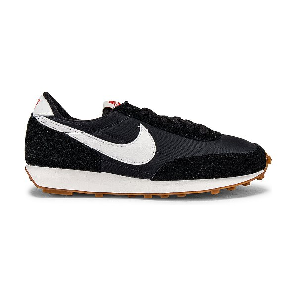 Nike daybreak sneaker in black  summit white & off noir