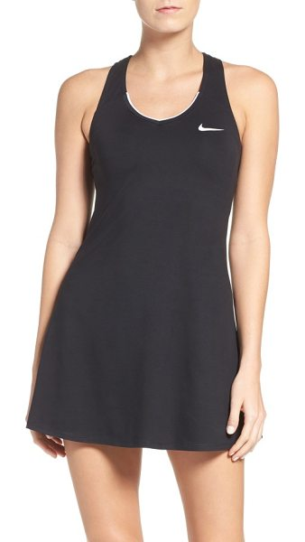 NIKE dri-fit tennis dress - On the court and afterwards, this freeing dress flatters...