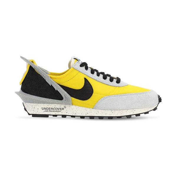 Nike Nike daybreak / undercover sneakers in bright citron