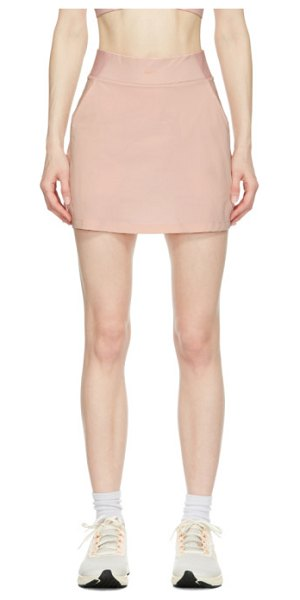 Nike pink flex bliss luxe skirt in 630 pink gl