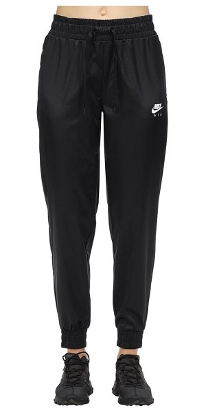 Nike Satin trousers in black