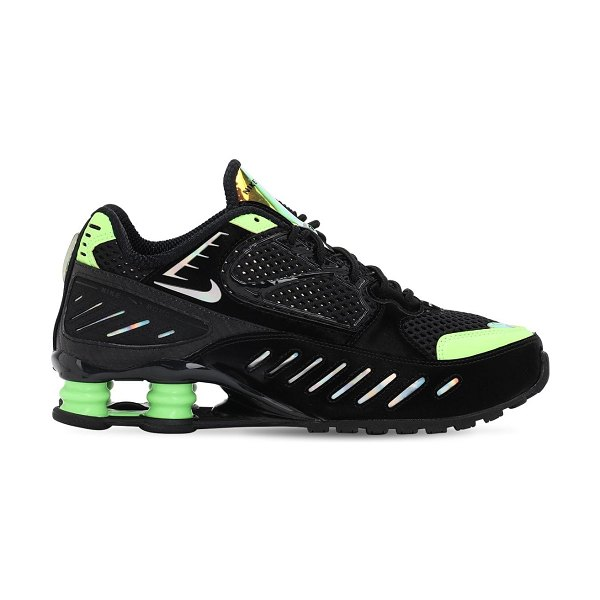 Nike Shox enigma sp sneakers in black,lime