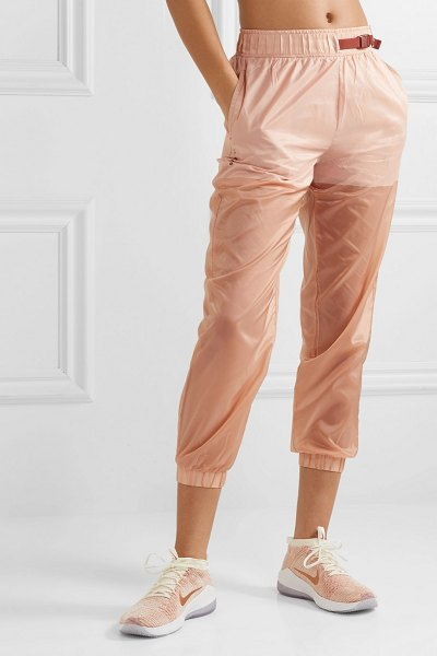 Nike tech pack belted shell track pants in antique rose - Nike's 'Tech Pack' track pants are cut from lightweight...