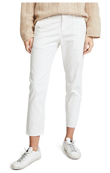 NILI LOTAN east hampton pants in eggshell