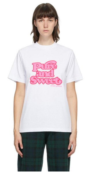 Noon Goons pure and sweet t-shirt in white