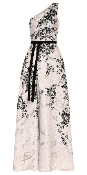 Notte by Marchesa floral gown in multicoloured