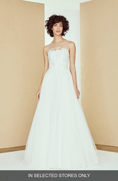 nouvelle AMSALE adelaide lace & tulle ballgown wedding dress