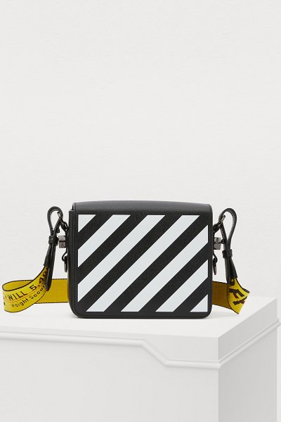 OFF WHITE Binder Clip crossbody bag - Off-White revisits everyday fashion with this Binder...