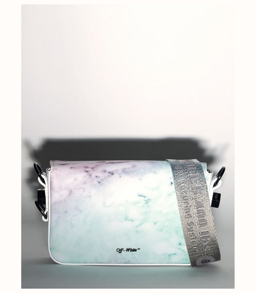 OFF-WHITE Lvr exclusive mini flap bag in multicolor