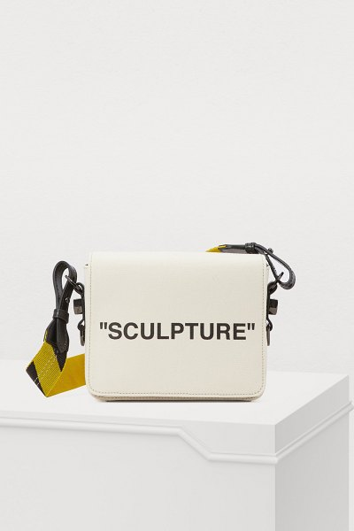 OFF WHITE Sculpture crossbody bag - Off-White mischievously pays tribute to the art that...