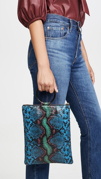 Oliveve laine ring bag in blue
