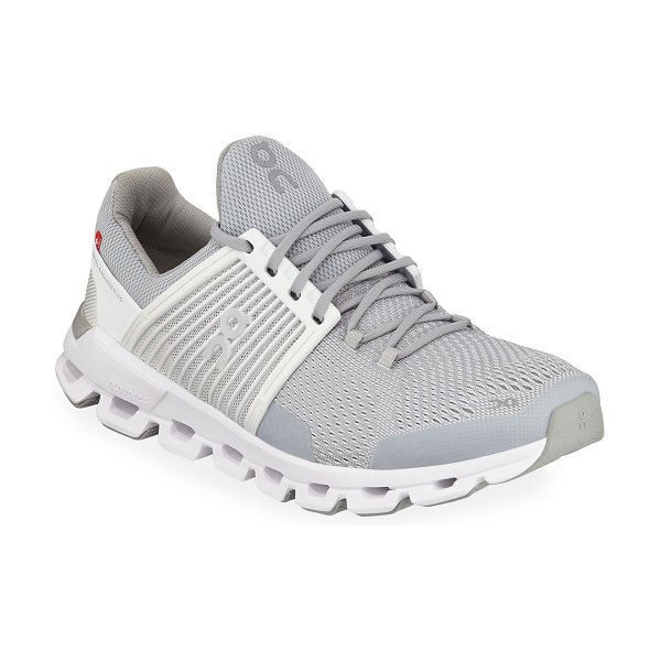 On CloudSwift Cushioned Running Sneakers in white